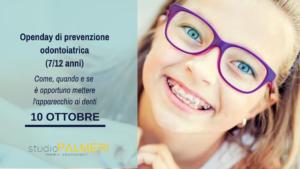 Open Day prevenzione odontoiatrica dentisti Catania studio Palmeri