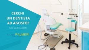 dentista aperto a Catania durante l'estate Studio Palmeri